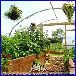 16FT Wide Poly Tunnels Commercial Garden Polytunnel Plastic Covers Spares