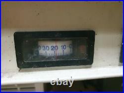 1.35m Framec Double Door Display Freezer Catering Shop Commercial Chiller Frozen
