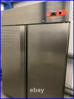 1.4m Baron Double Door Upright Fridge Chiller Catering Commercial Restaurant