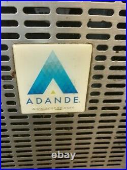 Adande Commercial double sliding door fridge for shop takeaway restaurant