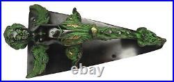 Angel Boy Shape Antique Vintage Finish Handmade Brass Gate Big Door Pull Handle
