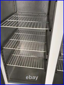 Appolo Upright Double Door Commercial Freezer- WHITE