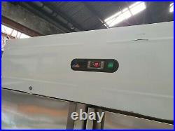 Atlanta Commercial Stainless Steel Upright Large Double Door Freezer