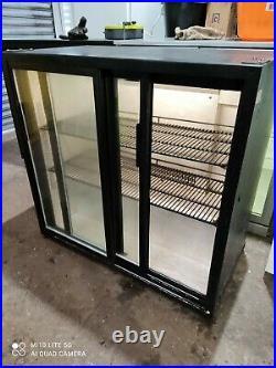 Autonumis Under counter commercial double sliding door fridge bottle cooler