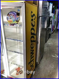 CDM Double Glass Door Upright Commercial Display Fridge/ Chiller