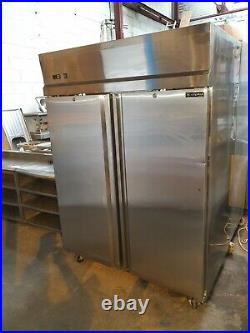 Capital Commercial Stainless Steel Upright Large Double Door Fridge Chiller
