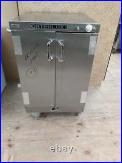 Caterlux Commercial double Door Hot Cupboard Keep Warm Plate Food Warmer (No. H3)