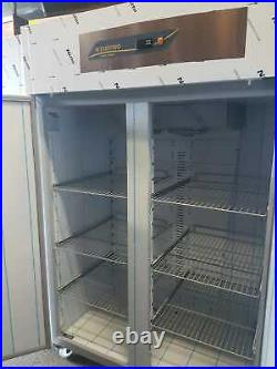 Cng-202-uc Upright Gastronorm Commercial Freezer Double Door Compressor On Top