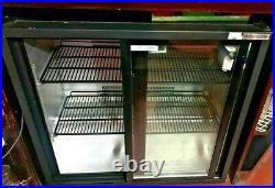 Commercial Bar Fridge Autonumis Eco Chill Double Sliding Door