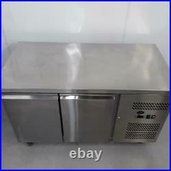 Commercial Bench Freezer 2 Door Double Chiller Prep King L7150F