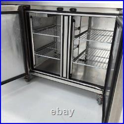 Commercial Bench Fridge 2 Door Double Prep Chiller Foster PRO1/2HA