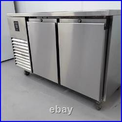 Commercial Bench Fridge 2 Door Double Prep Chiller Precision MCU211