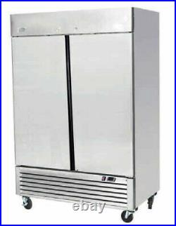 Commercial Double Door Chiller Fridge Atosa Ice A Cool ICE8960