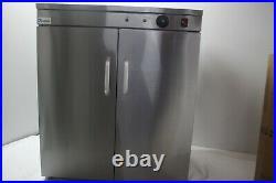Commercial Double Door Hot Cupboard Keep Warm Plate Food Warmer