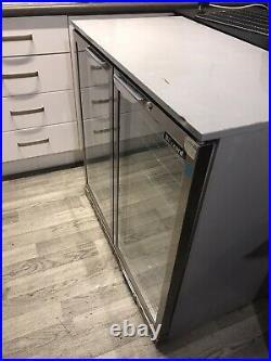 Commercial Double Door fridge used