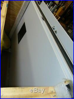 Commercial Double Leaf Door System Fire Rated Blast Rated With Frame