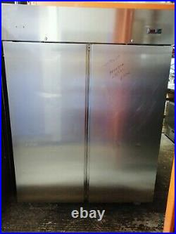 Commercial Electrolux extra upright double door Freezer stainless steel 1200 Ltr
