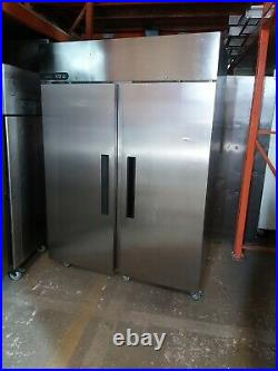 Commercial Foster extra upright double door fridge stainless steel 1300 liter