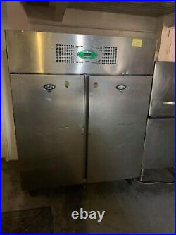 Commercial Fridge Foster Double Door S/S /Industrial 56.5 W, 69.5 H, 31.5 D