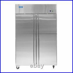 Commercial Fridge Stainless Steel Double Door Upright Arctica HED237