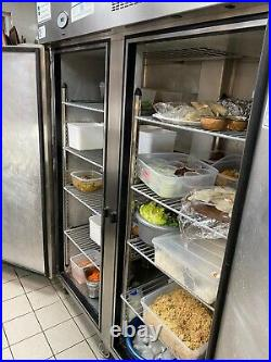 Commercial Kitchen Double Door Fridge