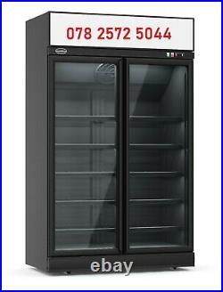 Commercial Slimline Double Door Upright Freezer in Stock (£2600+VAT)
