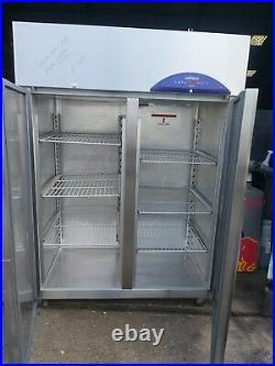 Commercial William upright double door fridge chiller stainless steel 1350L+1/+4