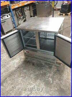 Commercial Williams Fridge Double (2 door) Under Counter Stainless Steel