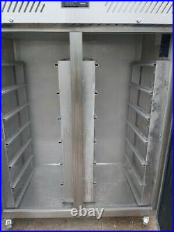 Commercial Williams LJ2SA upright double door freezer stainless steel -18/-21