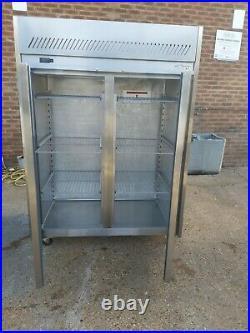 Commercial Williams upright double door fridge stainless steel 1350 liter +1/+4