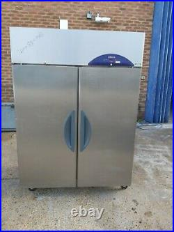 Commercial williams upright double door freezer stainless steal 1350 L -18/-21