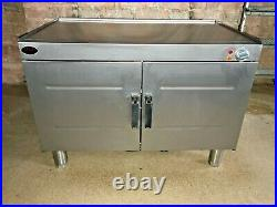 Cougar Stainless Steel Double Door Hot Cupboard Commercial Catering MINT