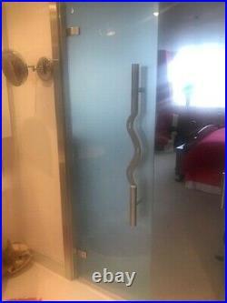 Door handles Beautiful Unique Architect Design Bespoke Stainless Steel (1Set)