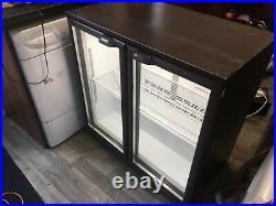 Double Door Display Fridge Commercial