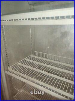 Double Glass Door Commercial Display Fridge / Drink Fridge / Chiller- Used