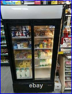 Double sliding 2 Door Commercial fridge used