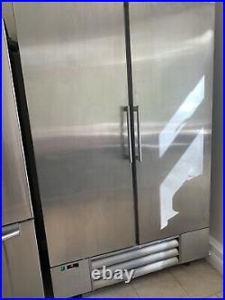 Eco Fridge UK Commercial Double Door Stainless steel