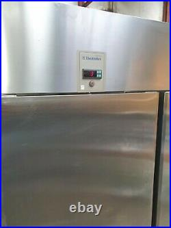 Electrolux Commercial Stainless Steel Upright Large Double Door Fridge VGC