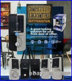 Electronic Touch Screen door Lock Deadbolt Pin Code + RFID + Barrel LW4/LW5