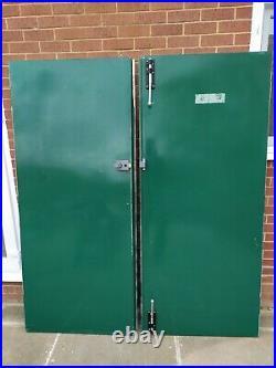 External Steel Fire Double Door Heavy Duty Security Commercial W-1830mm H-2115mm