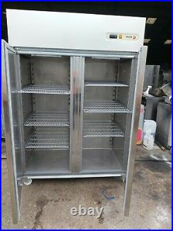 FAGOR Commercial upright double door fridge/ chiller stainless steel heavy duty