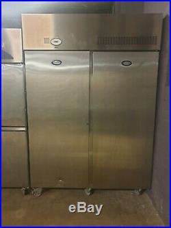 FOSTER Double Door Upright Stainless Steel Commercial Fridge