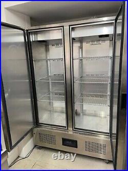 Foster Commercial Freezer double door Excellent Condition