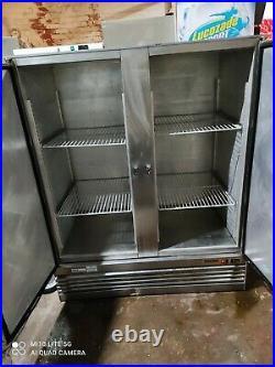 Foster Commercial double door fridge for shop takeaway restaurant