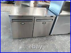 Foster Commercial undercounter double door fridge work top fridge prep fridge