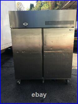 Foster Double Door 1100 Litre door COmmercial Cabinet Freezer