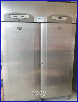 Foster Double Door Stainless Steel Commercial Fridge For Restaurant Or Takeaway