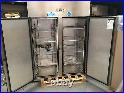 Foster Pro G 1350H-A Double Door Commercial Stainless Steel Fridge Hardly Used