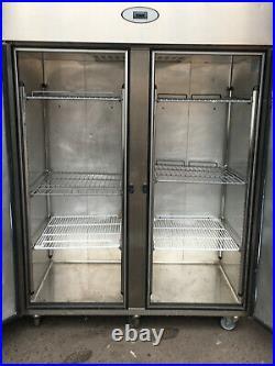 Foster Prog Double Door / 2 Door 1350Ltr Double door Commercial Cabinet Fridge