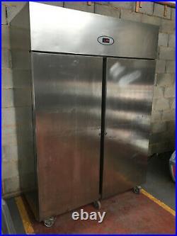 Foster Tall Double / 2 Door Stainless Steel Commercial Chiller / Fridge